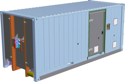 container militaire ampliroll CSC