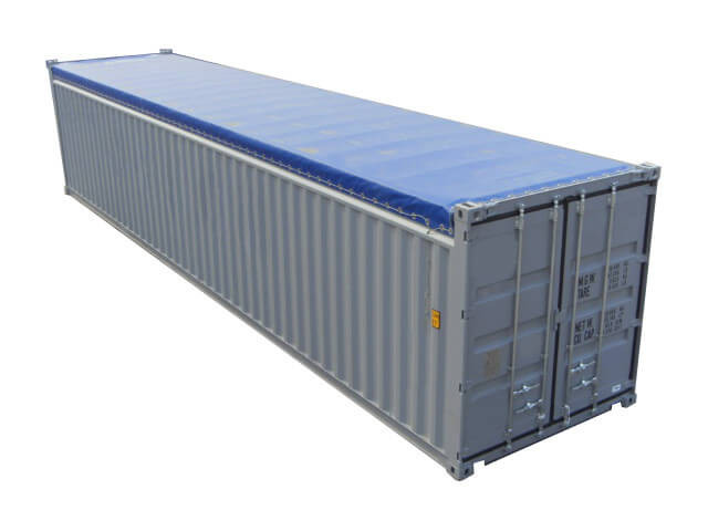 container 40 pieds open top