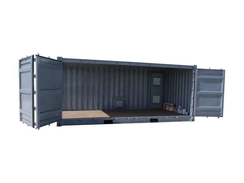 Assez Oxymontage - Les containers open side qui s'ouvrent sur le côté ! SV43