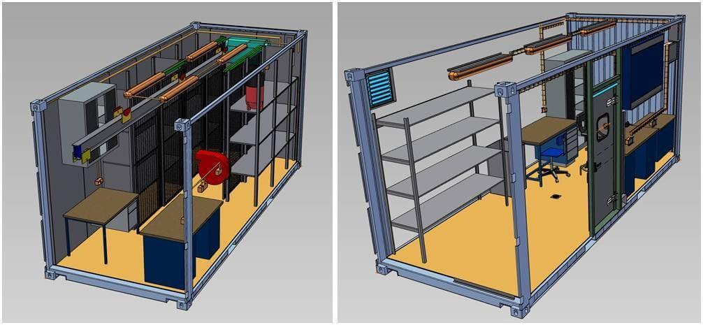 oxymontage les containers de chantier pour vos projet de stockage statique ou mobile. Black Bedroom Furniture Sets. Home Design Ideas