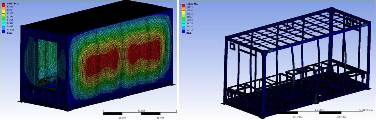 Oxymontage shelter container sur mesure for Structure conteneur