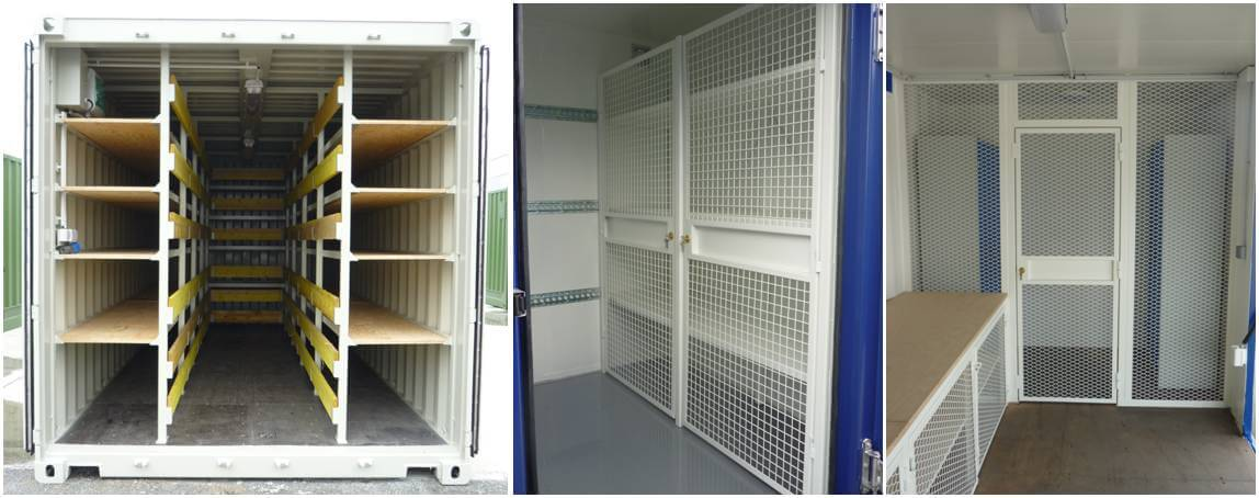 Oxymontage les containers de chantier pour vos projet de for Plan container 20 pieds