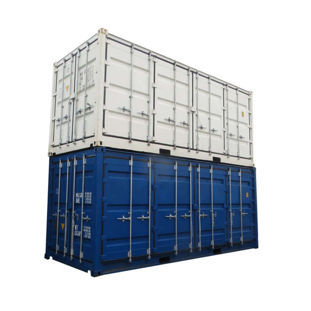 oxymontage les containers open side qui s 39 ouvrent sur le c t. Black Bedroom Furniture Sets. Home Design Ideas