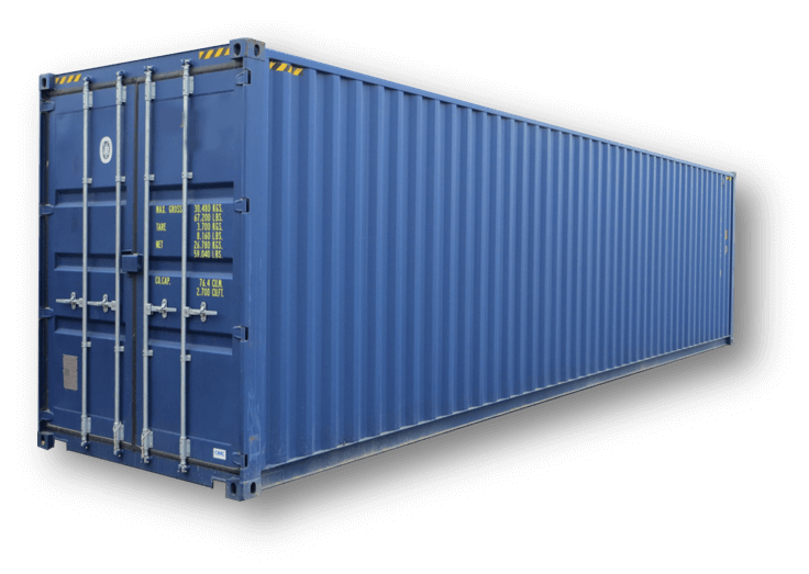 container 40 pieds high cube. Black Bedroom Furniture Sets. Home Design Ideas