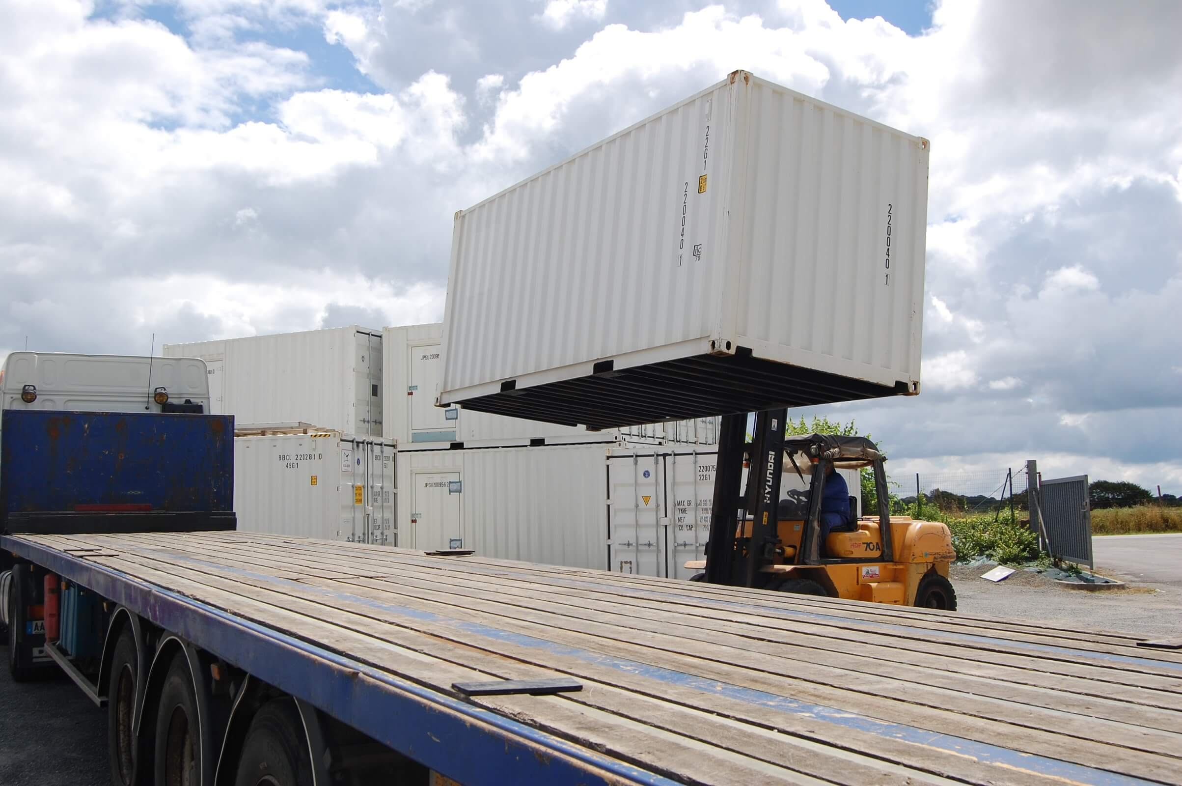 manutention container